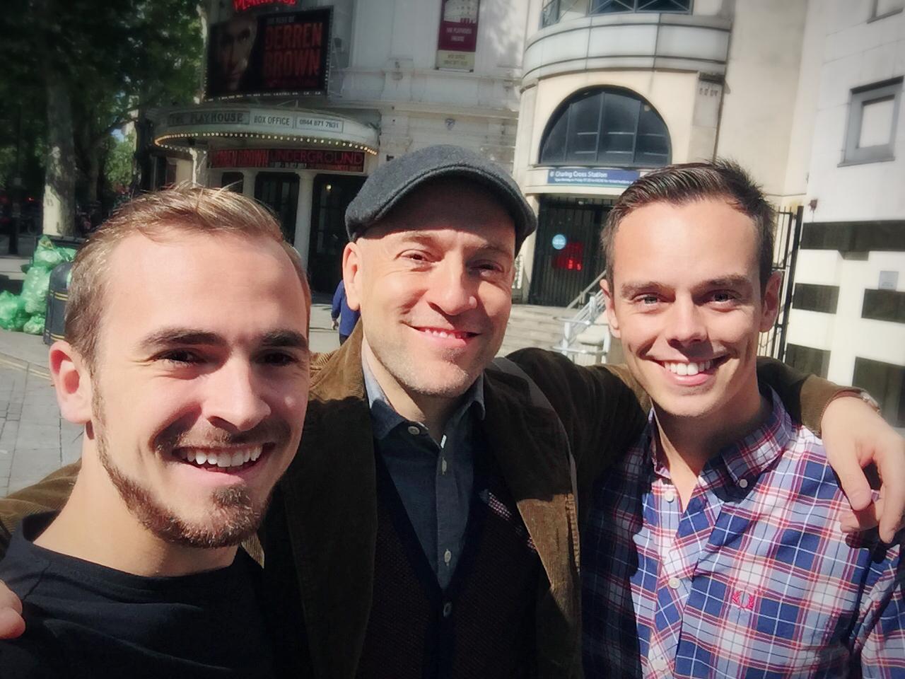Jay & Joss with Derren Brown