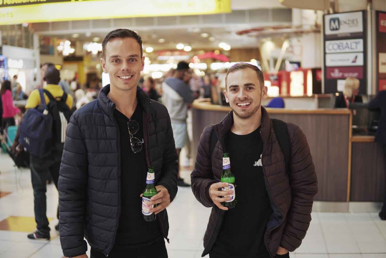 Jay & Joss Air-bound
