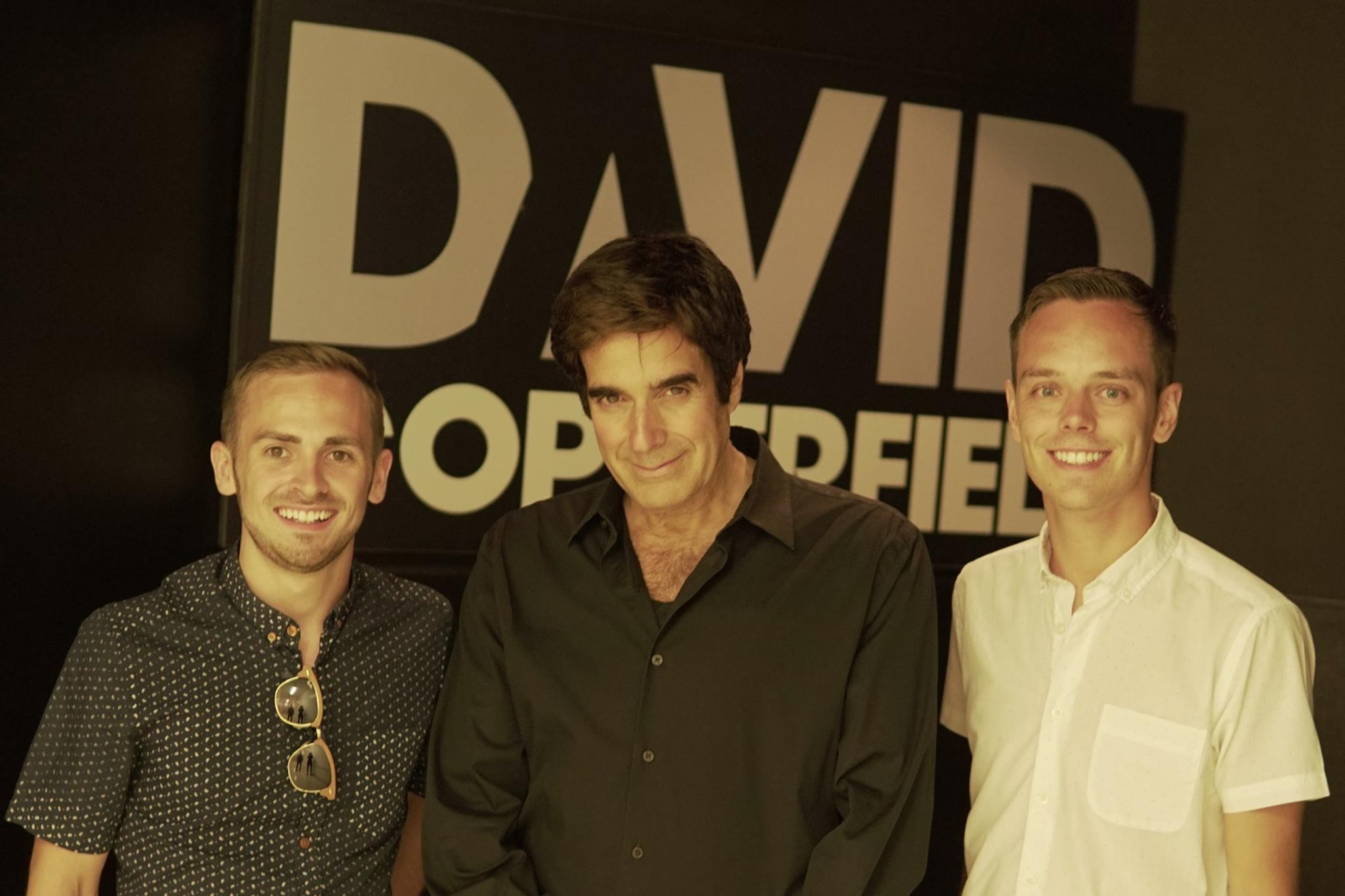 Jay & Joss with David Copperfield