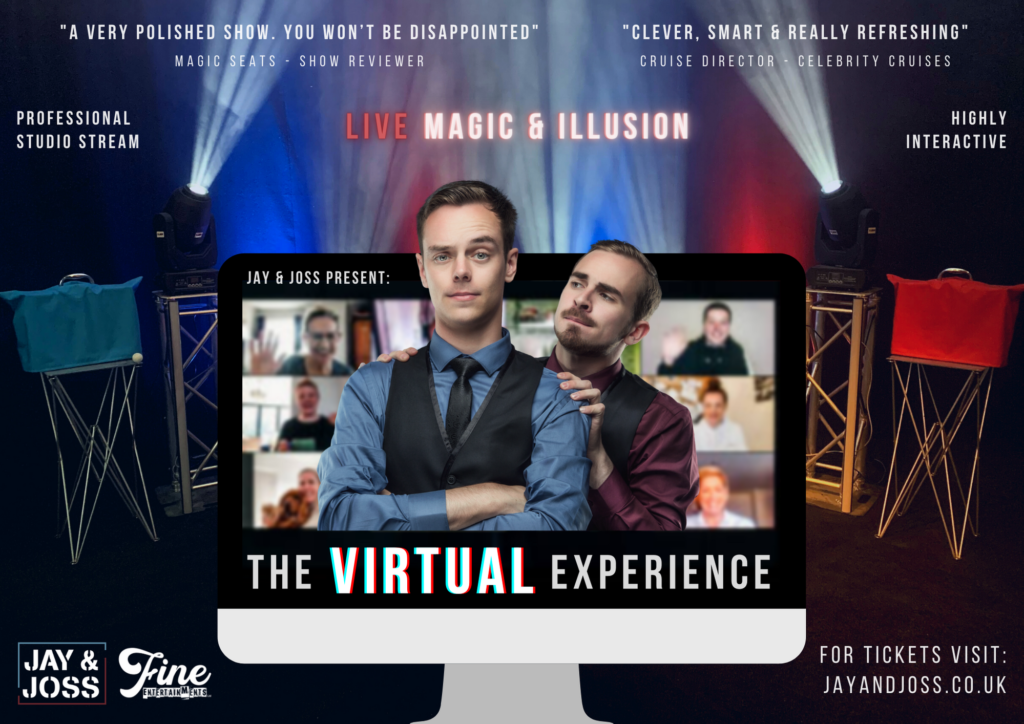 Online Magic Show - Zoom Magic - Virtual Entertainment